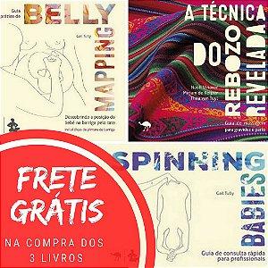 Livros - A técnica do rebozo revelada + Belly Mapping + Spinning Babies