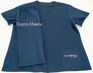 Pijama Cirúrgico - Manga Curta - Masculino - Confecção 7 dias úteis