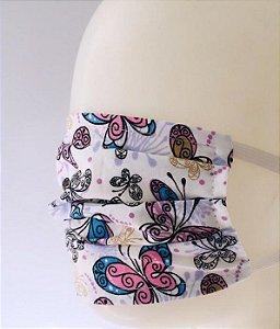 kit com 10 máscaras de tecido dupla - As máscaras de tecido são para pessoas saudáveis.