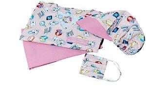 kit Pijama Cirúrgico Para Dentista