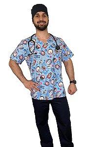 Pijama Cirúrgico Masculino - Star Wars - 01