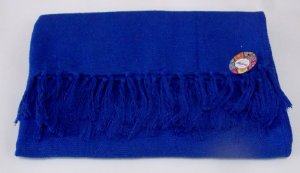 Rebozo Nacional - Azul royal