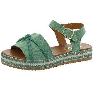 Sandália Marihá Calçados Chic Verão Verde
