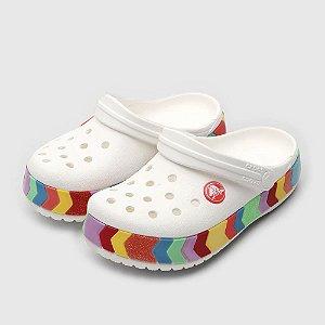 Babuche Crocs Infantil Chevron Beaded