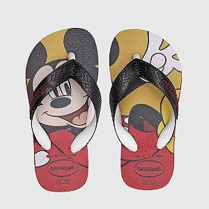 Chinelo Havaianas Disney Mickey Branco