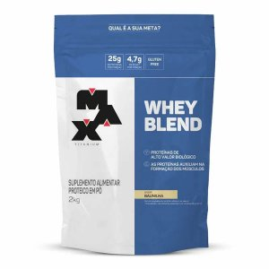 Whey Blend Max Titanium refil 2kg