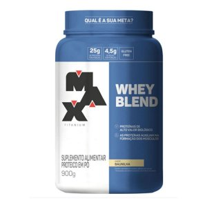 Whey Blend Max Titanium pote 900g