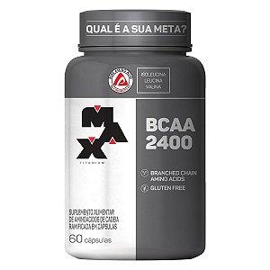 BCAA 2400 Max Titanium - 60 cápsulas
