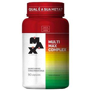 Multimax Complex  Max Titanium - 90 cápsulas