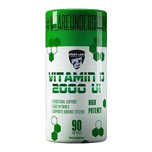 Vitamina D 2000 Under Labz - 60 cápsulas