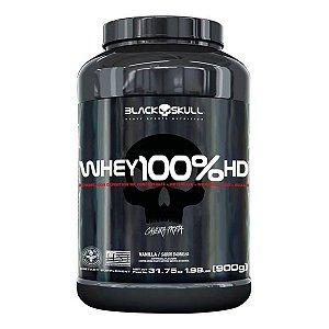Whey 100% HD Black Skull - 900g