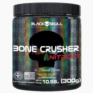 Bone Crusher Nitro 2t Black Skull -  300g