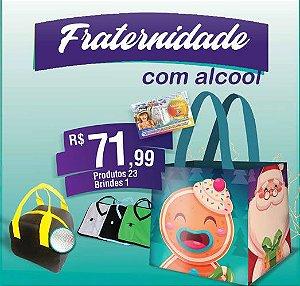 CESTA DE NATAL FRATERNIDADE COM ALCOOL