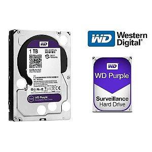 HD WD PURPLE 1 TB PARA SEGURANCA VIGILANCIA DVR WD10PURZ