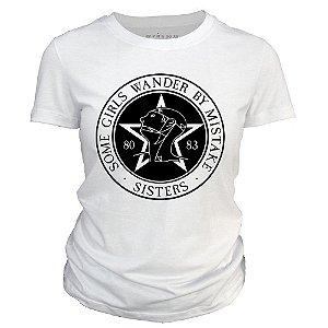Camiseta feminina - Sisters of Mercy - Some Girls Wander by Mistake