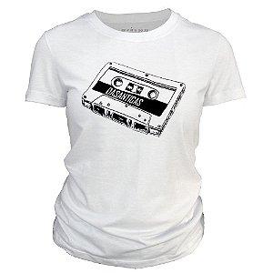Camiseta Feminina - Fita K7.