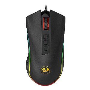 Redragon Mouse Gamer Cobra Chroma M711 Rgb USB 10000 dpi, 9 Botões Programáveis