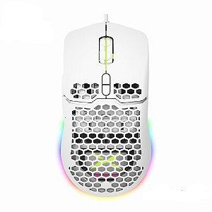 Mouse Delux m700 67g leve para jogos