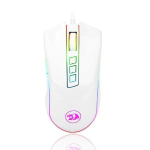Mouse gamer redragon cobra m711, com fio, rgb retroiluminado, 10000 dpi, 9 botões, ótico programável, para computador gamer, pc