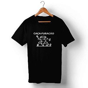 Camiseta Unissex Caça-Furacão Preta