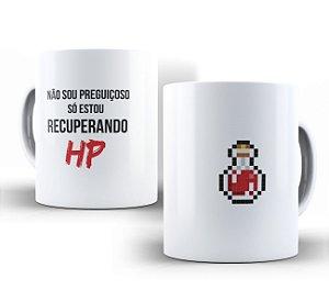 Caneca Recuperando HP Branca