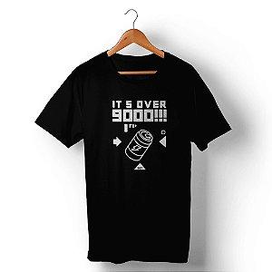 Camiseta Unissex Over 9000 Preta