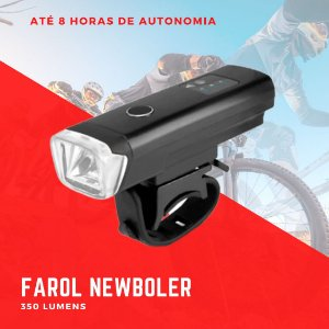Farol Bike Newboler 350 lumens CB Maker