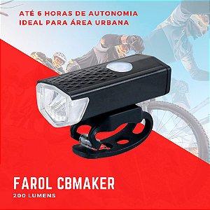 Farol Bike 200 lumens CB Maker