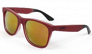 Óculos de Sol HUPI Luppa Vermelho Para Rostos GRANDES