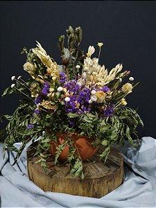 Arranjo Floral Lavanda