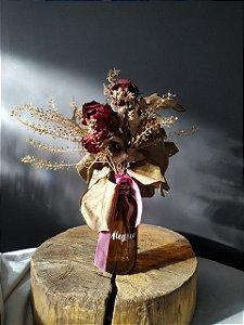 Garrafa Floral - Alegria