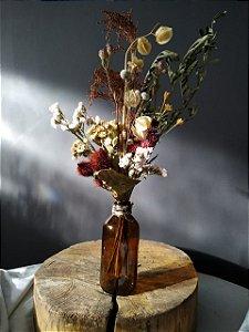 Garrafa Floral - Terra