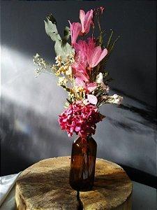 Garrafa Floral - Borboleta