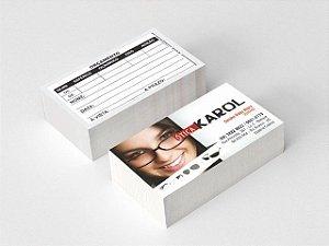 1000 Cartões - 48x88mm  Couchê - 250g - 4x1 Verniz Total Frente Produção 3 dias úteis após aprovação