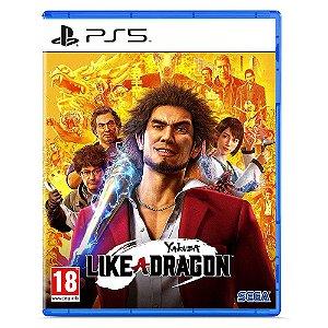 PS5 Yakuza like a Dragon