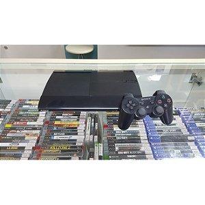 PlayStation 3 Super Slim 250GB Destravado + 10 jogos a escolha [Semi-novo]
