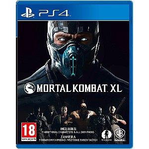 PS4 Mortal Kombat XL [USADO]