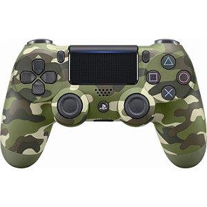 PS4 Controle Dual Shock 4 Camuflado verde