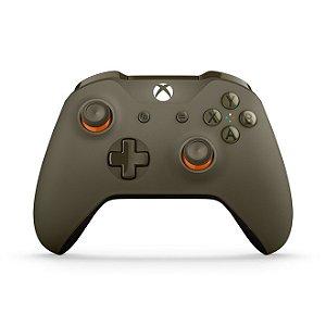 Xbox One Controle Sem Fio Modelo S Bluetooth Militar Green (Sem Caixa)