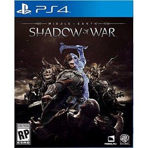 PS4 Sombras da Guerra