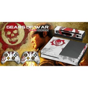 Xbox One Fat Skin - [Película decorativa] Gears of War - War Edition