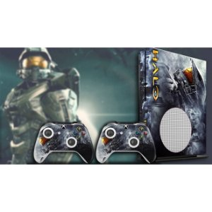 Xbox One Slim Skin - [Película decorativa] Halo 5 Helmet Edition
