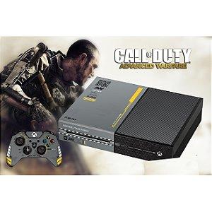Xbox One Slim Skin - [Película decorativa] Call of Duty Advanced Warfare