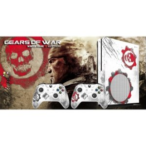 Xbox One Slim Skin - [Película decorativa] Gears of War - War Edition