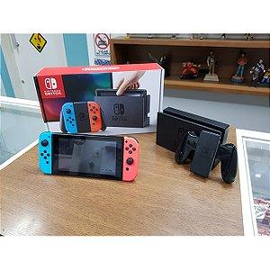 Nintendo Switch Seminovo