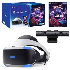 Playstation VR Bundle VR Worlds ZVR2 Seminovo
