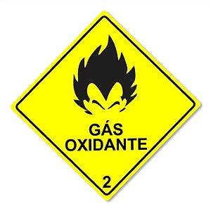 Placa Decorativa 30x30cm Gás Oxidante