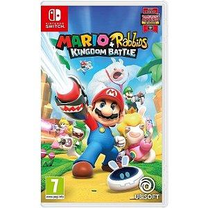 Switch Mario + Rabbids Kingdom Battle [USADO]