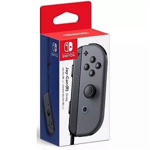 Switch Controle Joy-Con Direito R Cinza
