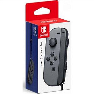 Switch Controle Joy-Con Esquerdo L Cinza